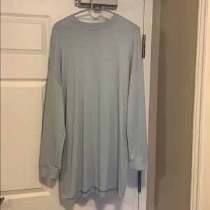 Wilfred Free Baby Blue long sleeve dress. Size L.